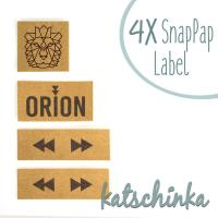 #SnapPap Label Orion Löwe