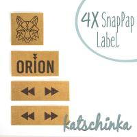 #SnapPap Label Orion Wolf